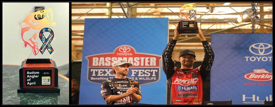 Pro Bass Anglers Primed for April Autism Awareness
