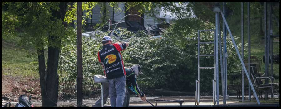 Williams Extends Lead on Day Two of FLW Tour at Lewis Smith Lake