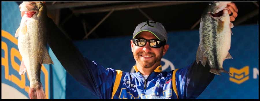 Brandon Lester Takes Command At Grand Lake Bassmaster Elite