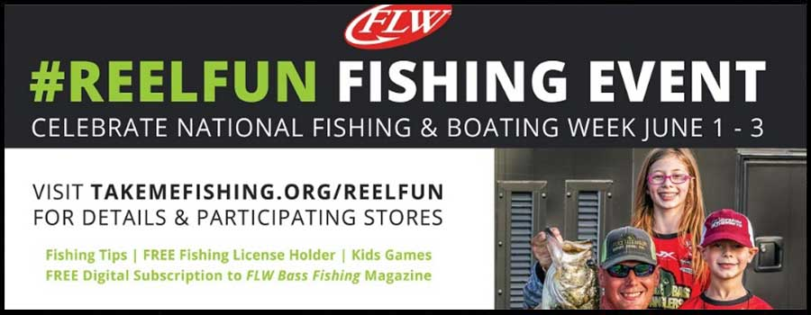 FLW Teams with Walmart and Take Me Fishing™ to Kick Off National Fishing and Boating Week