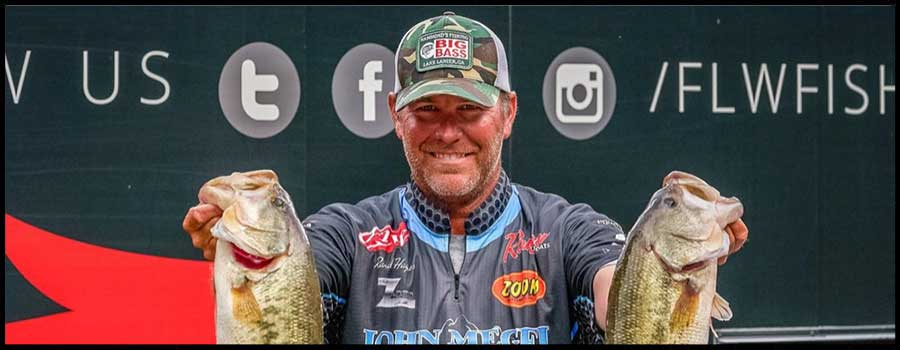 Haynes Out in Front after Day One of FLW Tour at Kentucky Lake