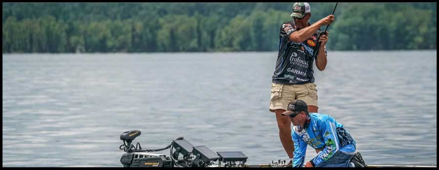 Haynes Extends Lead after Day Two of FLW Tour at Kentucky Lake