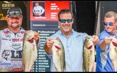 Lambert Catches Record-Breaking Limit to Take Lead after Day Three of FLW Tour at Kentucky Lake