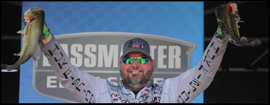 Hackney Holds Onto Lead At Bassmaster Elite Series Event On The Sabine River