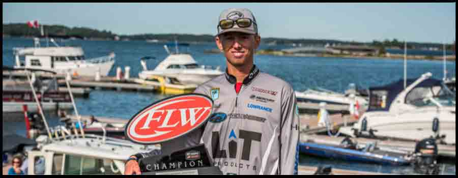 Texas' Hall Goes Wire-to-Wire, Wins Costa FLW Series Northern Division Finale on 1000 Islands
