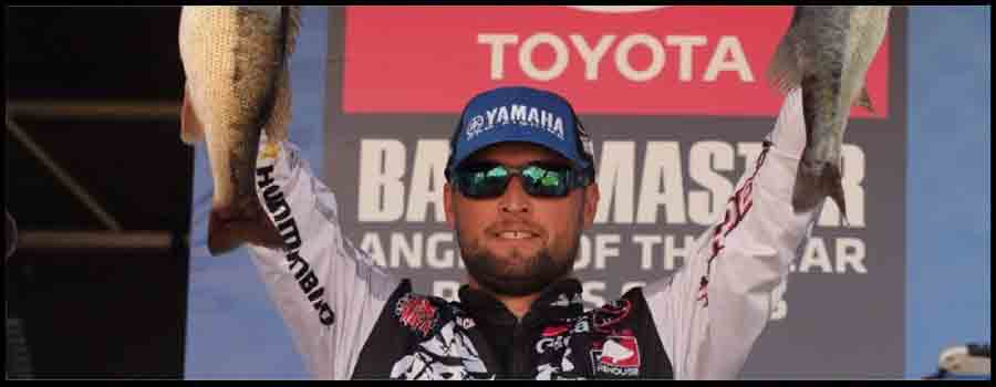 Lucas One Step Away From Raising Coveted Bassmaster AOY Championship Trophy