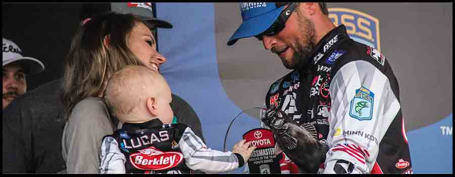 Lucas Puts Finishing Touches On Bassmaster Angler Of The Year Championship