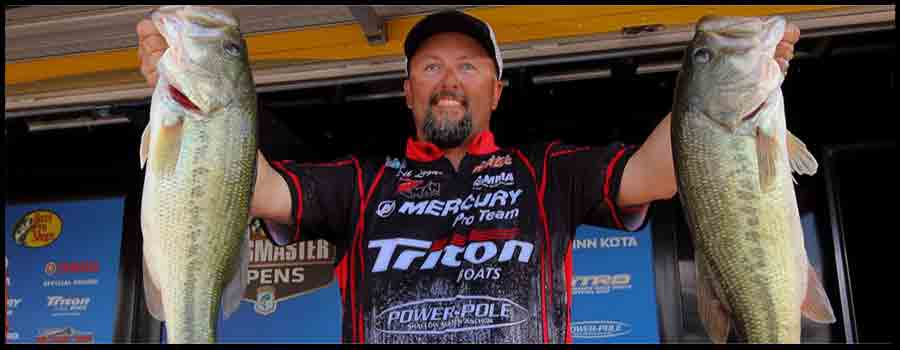 Jeff Lugar Leads First Round Of Bassmaster Open On Douglas Lake
