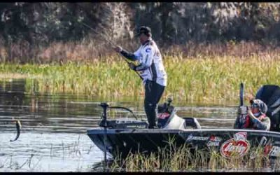 Cox Holds Lead After Day Two of FLW Tour at Lake Toho