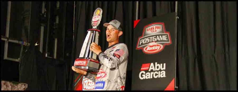 Jordan Lee Grabs Inaugural MLF Bass Pro Tour Title with Third-Period Flurry on Garcia Reservoir