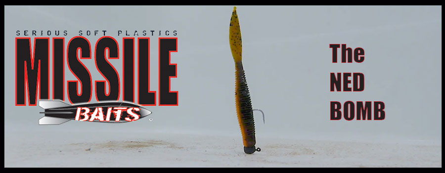Ned Bomb Dropping From Missile Baits at Bassmaster Classic