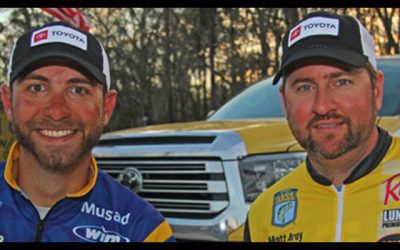 Toyota adds Bassmaster Elite Series Anglers Matt Arey and Brandon Lester