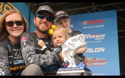 Blaylock Holds On To Win Bassmaster Elite Series Event At Winyah Bay