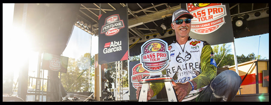 Andy Morgan Claims Hometown Win on Lake Chickamauga at Bass Pro Tour  Stage Four