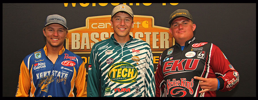 """Carhartt College anglers preview  Bassmaster National Championship at """"Chick"""""""