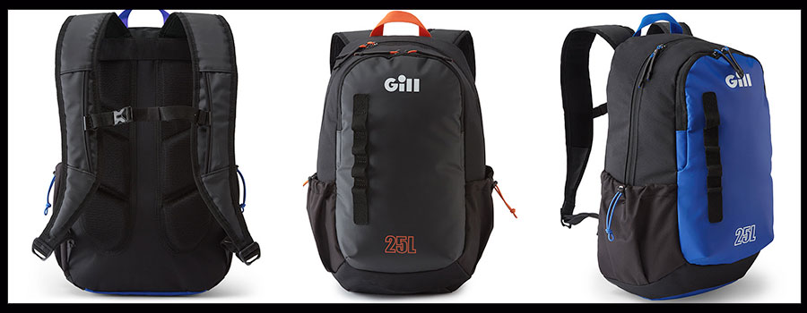 GILL FISHING: New Waterproof Backpack