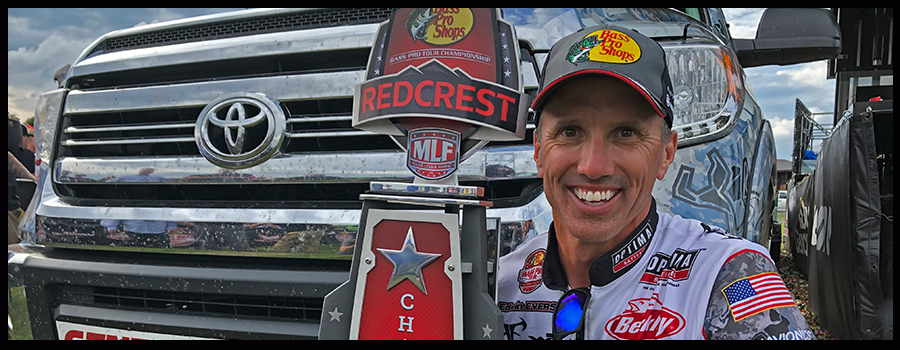 Evers 63 Bass Blitz Nets Toyota Bonus Bucks