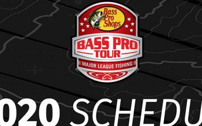 Major League Fishing Announces  the 2020 Bass Pro Tour Schedule