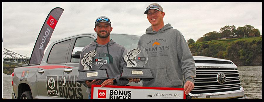 Smallmouth Win Toyota Bonus Bucks Tourney