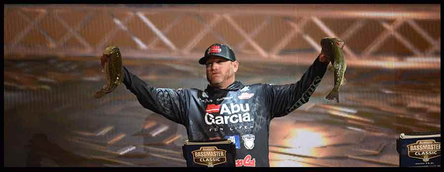 Hank Cherry Maintains Solid Lead At Bassmaster Classic On Lake Guntersville