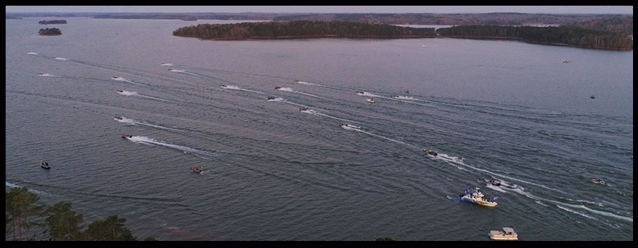 Warm Fall Temperatures Await Anglers At Bassmaster Eastern Open On Hartwell