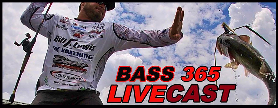 Bass 365 LIVECAST – Frogs, Fall Fishing and Football? With The Cajun baby Cliff Crochet