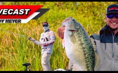 LIVECAST #4 Spinning Rod Strengths, World Record Bass with CODY MEYER