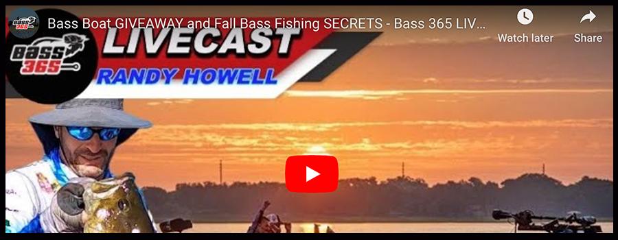BASS 365 LIVE CAST!  Randy Howell