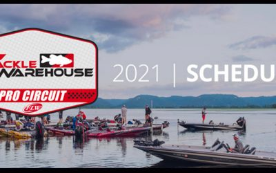 Major League Fishing, FLW Announce 2021 Tackle Warehouse Pro Circuit Schedule