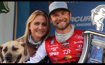 Big Final Day Lifts Palaniuk To Win In Bassmaster Elite At Santee Cooper