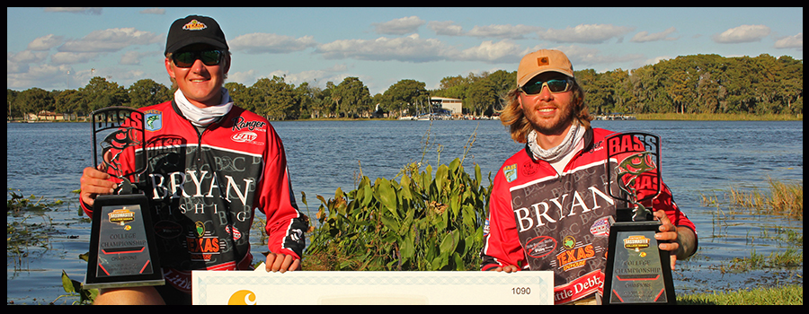 Sonar and Italian Subs credited with Carhartt Bassmaster College Series Historic Win