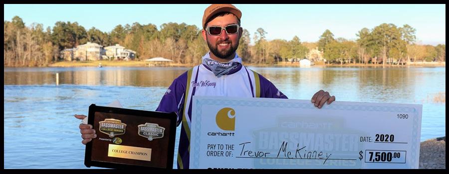 McKinney Wins Bassmaster College Classic Bracket On Lay Lake, Earns Dream Classic Berth