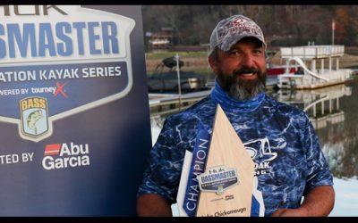 Iowa Angler Cole Claims B.A.S.S. Nation Kayak Series Victory At Chickamauga Lake