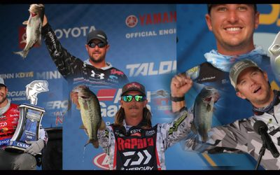Another Daiwa Pro Staff Win at Bassmaster Elite on Texas Lake Fork