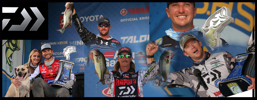 Another Daiwa Pro Staff Win at Bassmaster Elite on Texas Lake Fork