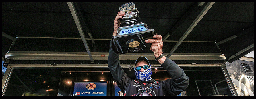 Williams Claims Victory At Tough Bassmaster Central Open On Lewisville Lake