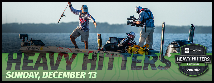 Major League Fishing Toyota Heavy Hitters Special presented by Venmo to Air Sunday on CBS