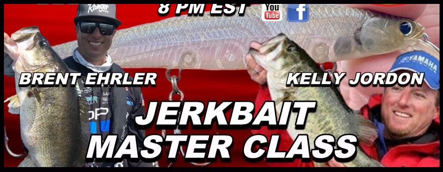 Jerkbait MASTER CLASS – Brent Ehrler and Kelly Jordon
