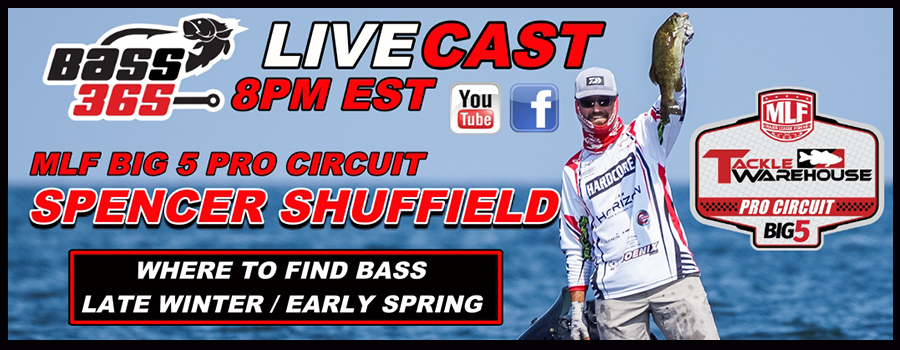 Finding Bass In Late Winter / Early Spring – Spencer Shuffield