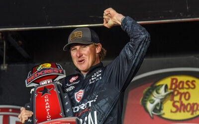 Dustin Connell Wins REDCREST 2021 on Lake Eufaula
