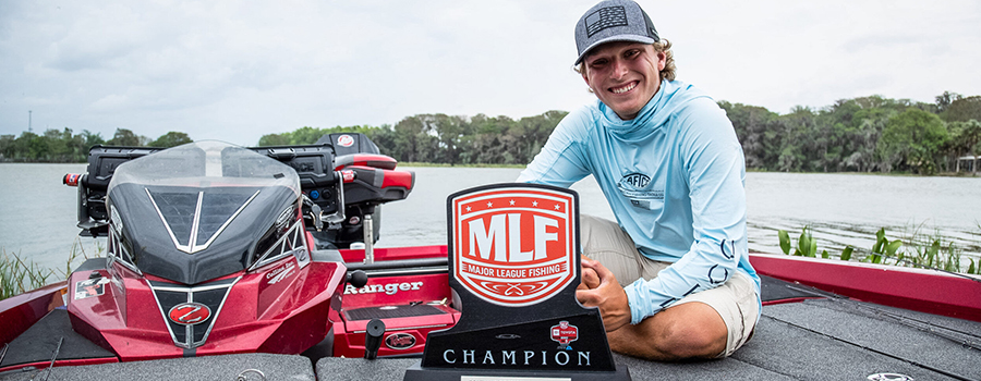 Myrtle Beach's Thompkins Earns Wire-to-Wire Victory at Toyota Series Event on Harris Chain of Lakes