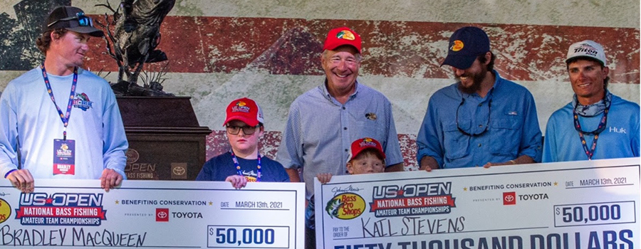 Fishing Buddies and Families Win Top Prizes at Bass Pro Shops US Open Regional Qualifying Event on Lake Okeechobee