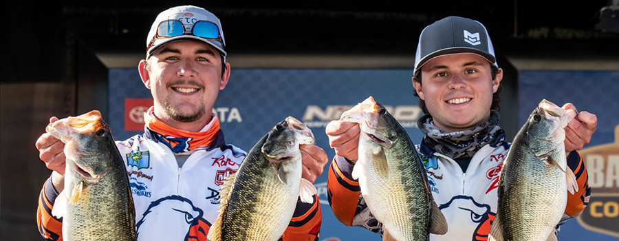 Carson-Newman Leads Bassmaster College Series At Lake Hartwell