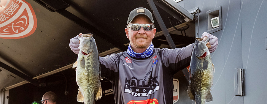Milner Leads Day One of Tackle Warehouse Pro Circuit on Lewis Smith Lake