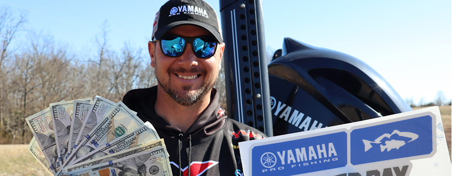 Christie Caps Tennessee River with Yamaha Power Pay