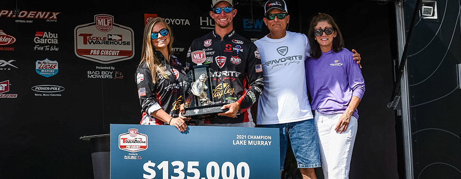 Becker Earns First Career Tackle Warehouse Pro Circuit Victory at Stop 3 at Lake Murray