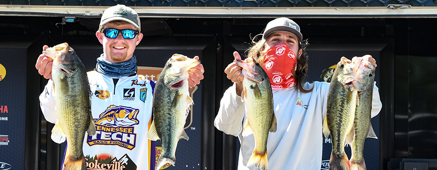 Tennessee Tech Pair Targets Largemouth To Take Bassmaster College Series Lead At Cumberland