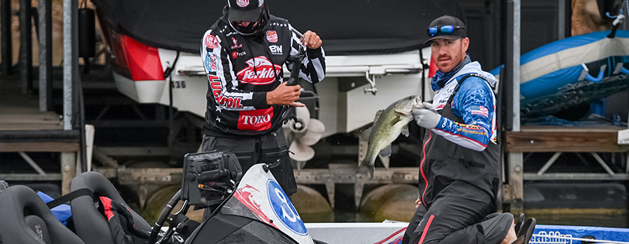 Wheeler Leads Group B at Major League Fishing Bass Pro Tour – Stage Two Presented by at Lake Travis