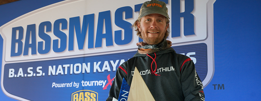Afternoon Surge Earns Snyders B.A.S.S. Nation Kayak Series Win At Lake Eufaula