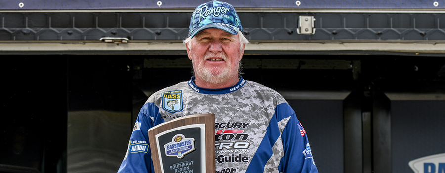 Adkins Overcomes All Odds To Win B.A.S.S. Nation Southeast Regional On Hartwell